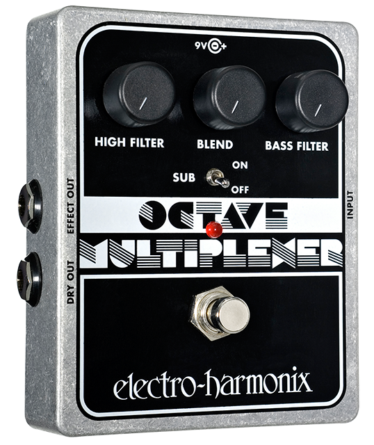 Image 0 of Electro Harmonix Octave Multiplexer Sub Generator Guitar Pedal w/ 9 volt Battery