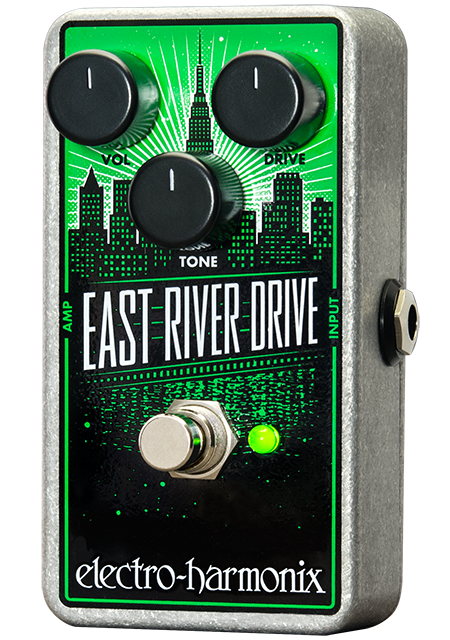 Image 0 of Electro Harmonix East River Drive Classic Overdrive Pedal w/ 9V Battery