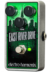 Electro Harmonix East River Drive Classic Overdrive Pedal w/ 9V Battery