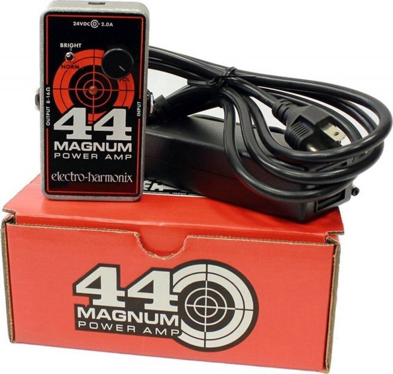 Image 0 of Electro Harmonix 44 Magnum 44 Watt Power Amp Amplifier w/EHX Power Supply Nano