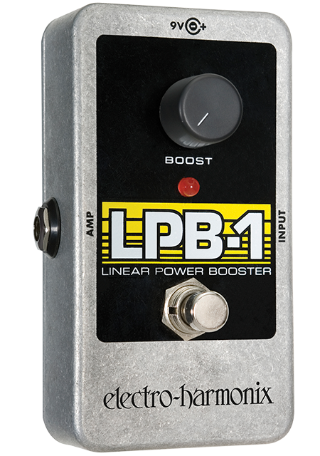 Image 0 of Electro Harmonix LPB-1 Linear Power Booster Preamp Pedal Guitar Boost w/ Battery