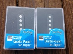 Seymour Duncan SJAG-3 Quarter Pound Jaguar SET Bridge & Neck for Fender Guitar