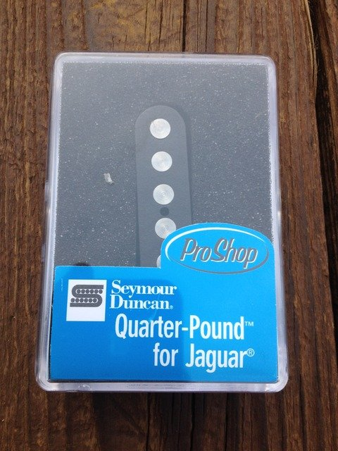 Image 3 of Seymour Duncan SJAG-3N Quarter Pound Jaguar Neck Pickup for Fender Guitar NEW
