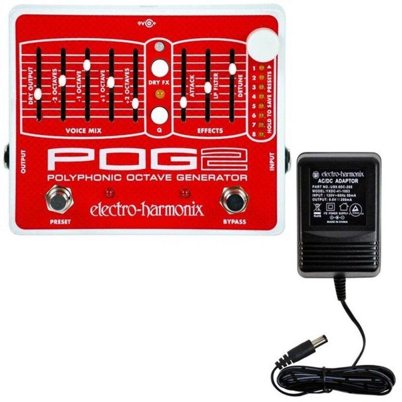Image 0 of Electro Harmonix POG 2 w/ Power Supply Polyphonic Octave Generator Pedal