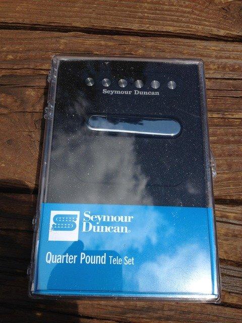 Image 3 of Seymour Duncan Quarter Pound Tele Pickup Set Telecaster Bridge & Neck 11208-14