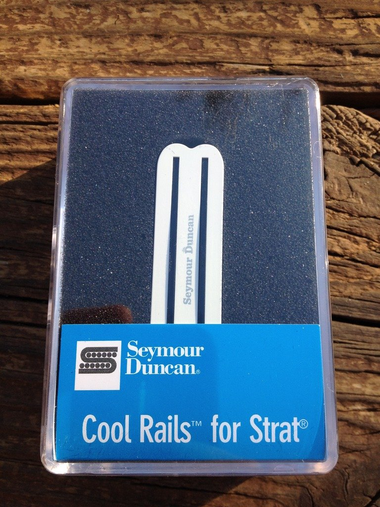 Image 3 of Seymour Duncan SCR-1n Cool Rails for Strat White NECK Pickup 11205-06-W