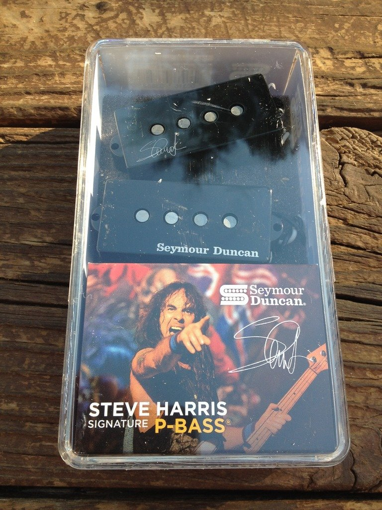 Image 3 of Seymour Duncan SPB-4 Steve Harris Signature Precision P-Bass Pickup 11402-13