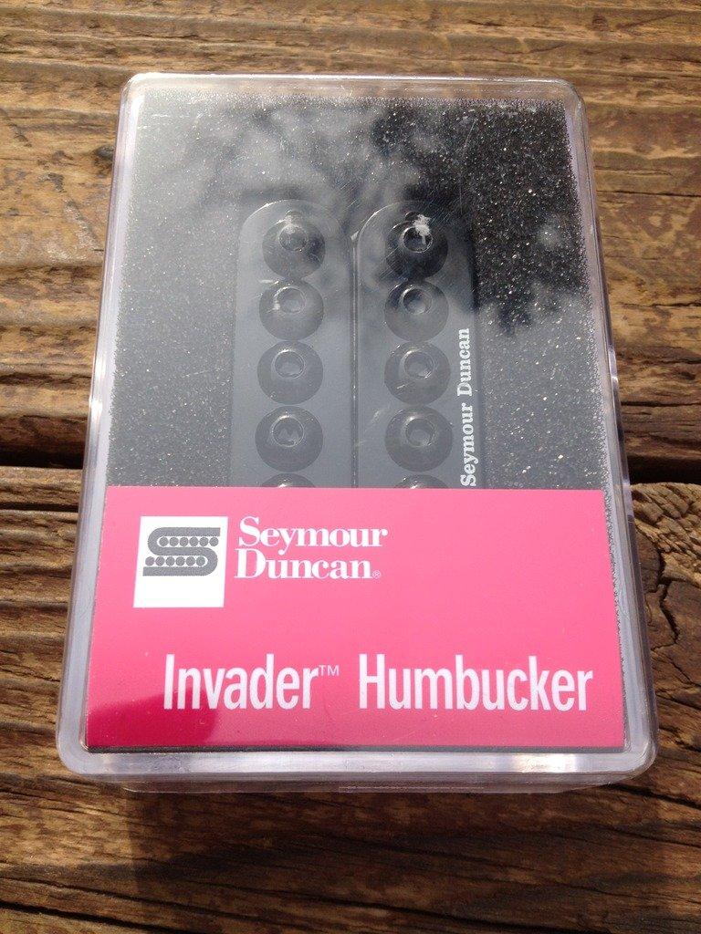 Image 3 of Seymour Duncan  SH-8 Invader Neck Humbucker Guitar Pickup Black SH-8n