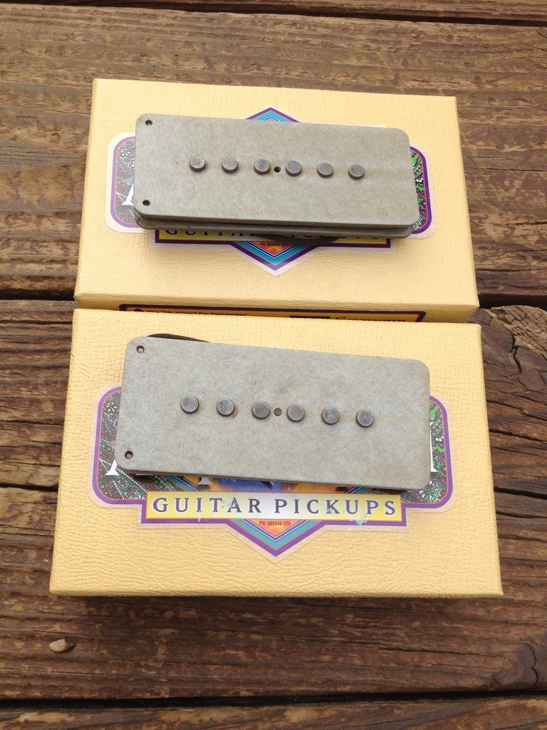 Image 4 of Seymour Duncan Antiquity II Fender Jazzmaster Jam 60's Guitar Pickup Set