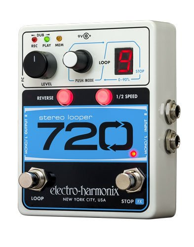 Image 0 of Electro-Harmonix 720 Stereo Recording Looper Looping Station Pedal
