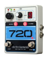 Electro-Harmonix 720 Stereo Recording Looper Looping Station Pedal