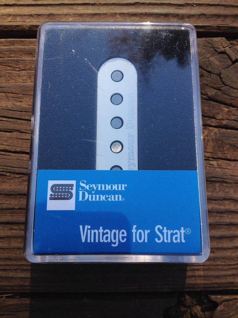 Image 3 of Seymour Duncan SSL-2 Vintage FLAT Strat Pickup Alnico V Single Coil Pickup