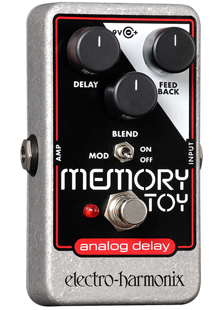 Image 0 of Electro Harmonix Memory Toy Analog Delay Modulation Guitar Effects Pedal Nano