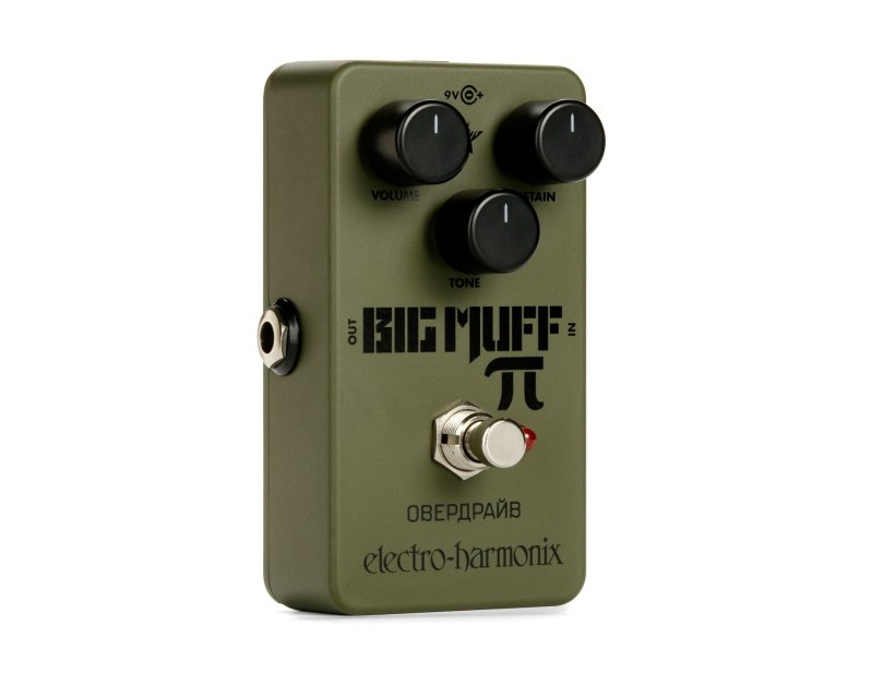 Image 0 of Electro-Harmonix EHX Nano Green Russian Big Muff Distortion Sustain Pedal
