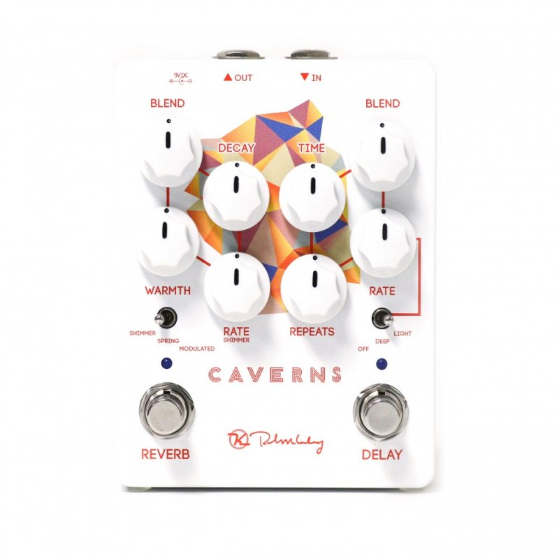 Image 0 of Keeley Caverns Delay Reverb V2 Delay Reverb Pedal - Brand New