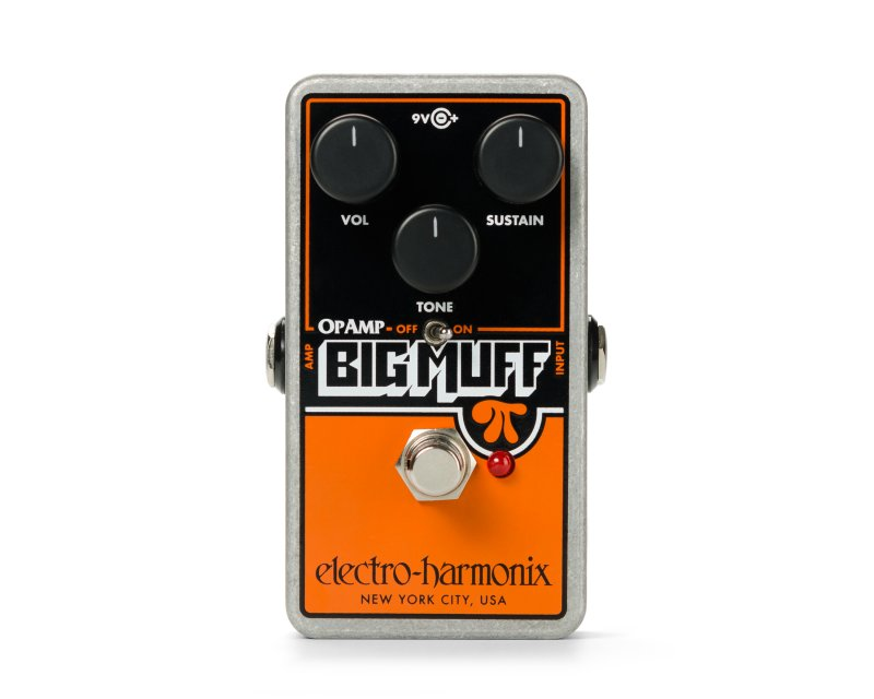 Image 0 of Electro-Harmonix Op-Amp Big Muff Pi Distortion/Sustainer Pedal