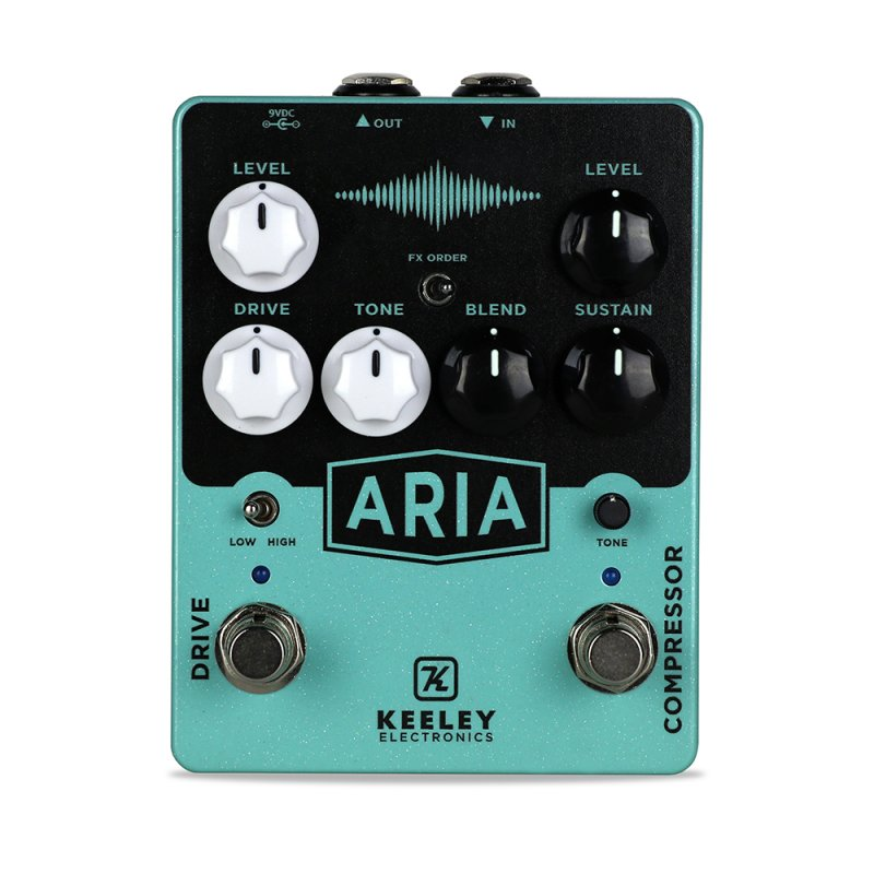 Image 0 of Keeley Aria Compressor Overdrive Pedal