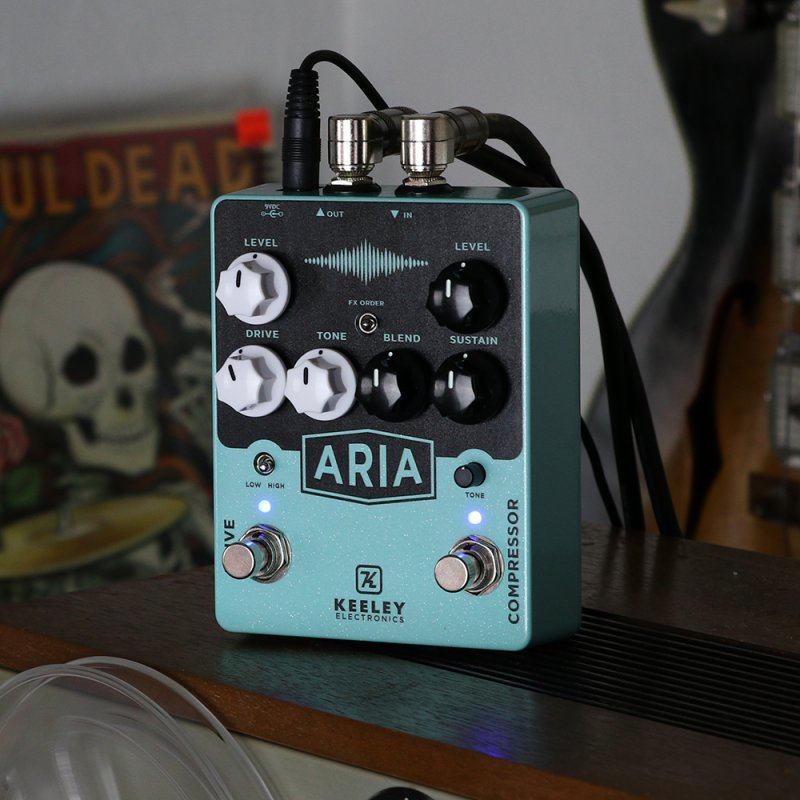 Image 1 of Keeley Aria Compressor Overdrive Pedal