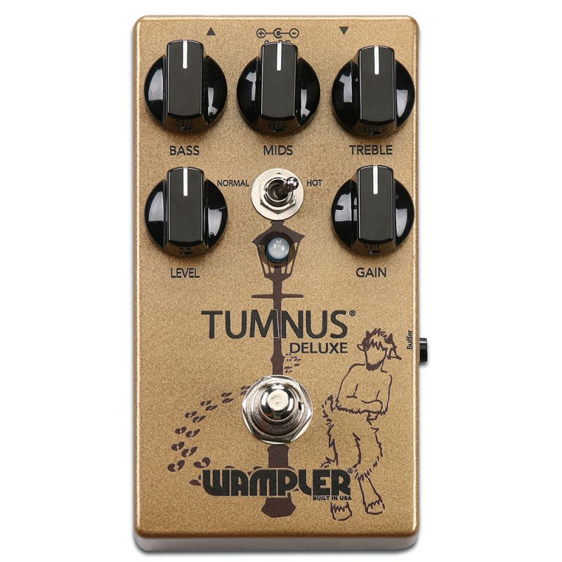Image 0 of WAMPLER Tumnus Deluxe Overdrive Pedal Transparent