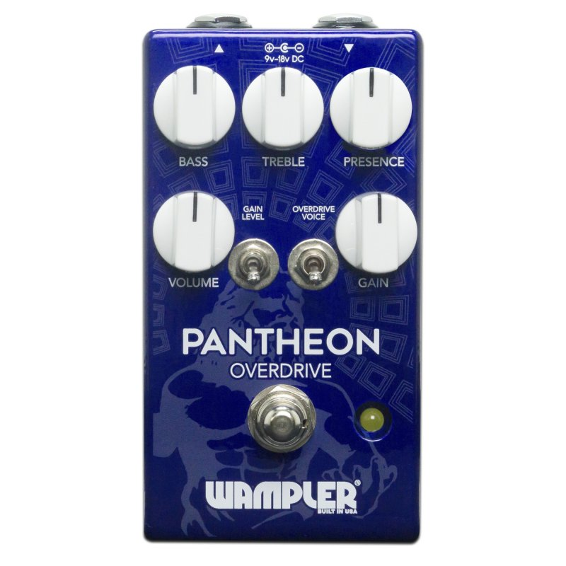 Image 0 of Wampler Pantheon Overdrive Pedal