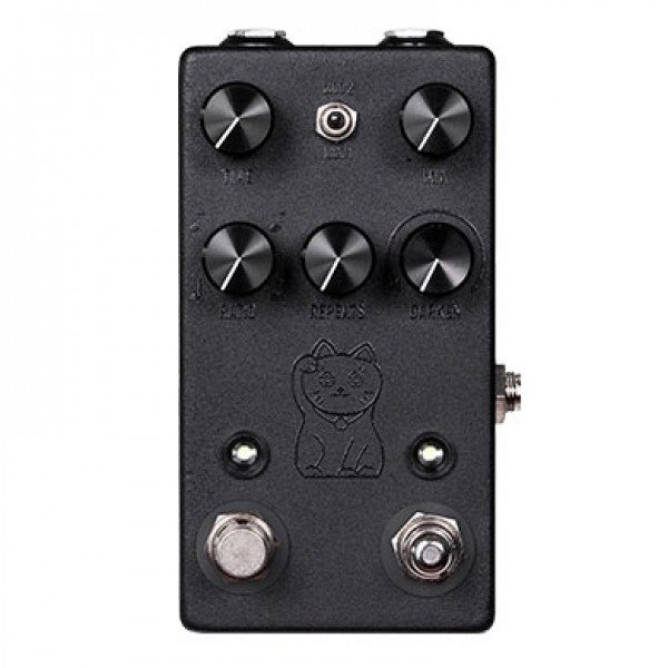 Image 0 of NEW JHS Lucky Cat Delay Pedal Tap Tempo BLACK - AUTHORIZED DEALER