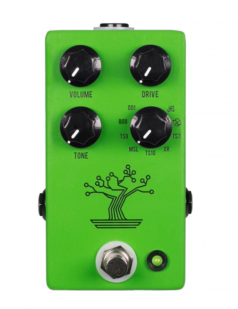 Image 0 of NEW JHS Bonsai Overdrive Pedal 9-Way Tube Screamer - AUTHORIZED DEALER